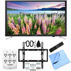 Samsung UN32J5205 - 32-Inch Full HD 1080p Smart LED HDTV Flat\/Tilt Wall Mount Bundle
