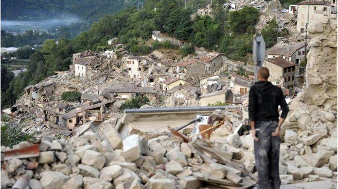 Resultado de imagem para terremoto na italia