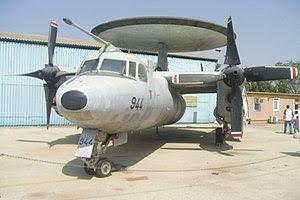 """""""Grumman E-2C Hawkeye"""" which is a fl..."""