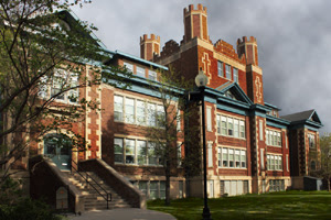 Buena Vista School opened 1913-1914, the Normal School rented four rooms and relocated to this locationin 1914