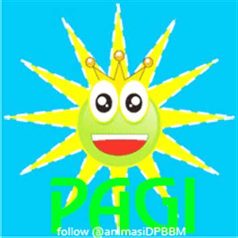 gambar dp bbm animasi gif ucapan selamat pagi gambar