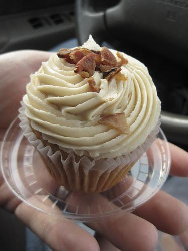 Maple Bacon Cupcake