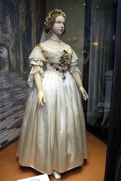 Queen Victoria's wedding dress, credited with starting the