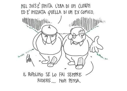 Anno nuovo, è tempo di bilanci. by Livio Bonino