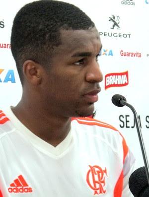 Erazo Luxemburgo Flamengo (Foto: Thales Soares)