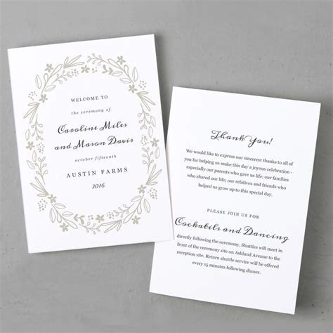 1000  ideas about Cheap Wedding Programs on Pinterest