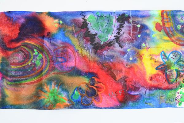 Large Scale Collaborative Murals For Kids Meri Cherry