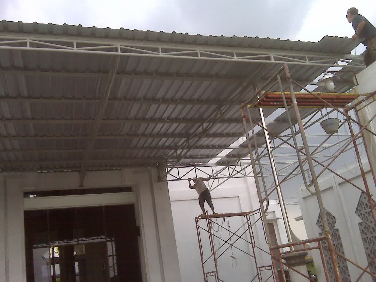 Pasang Canopy Sidoarjo Canopy Besi Kanopi Stainless Canopy