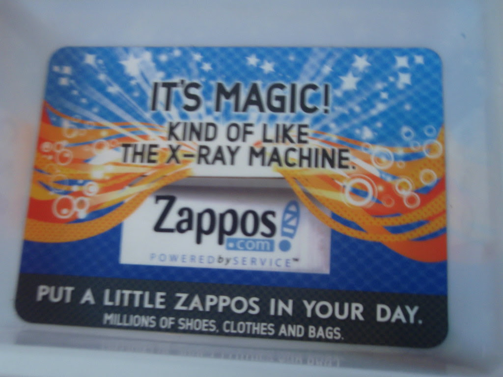 Zappos invades LAX security