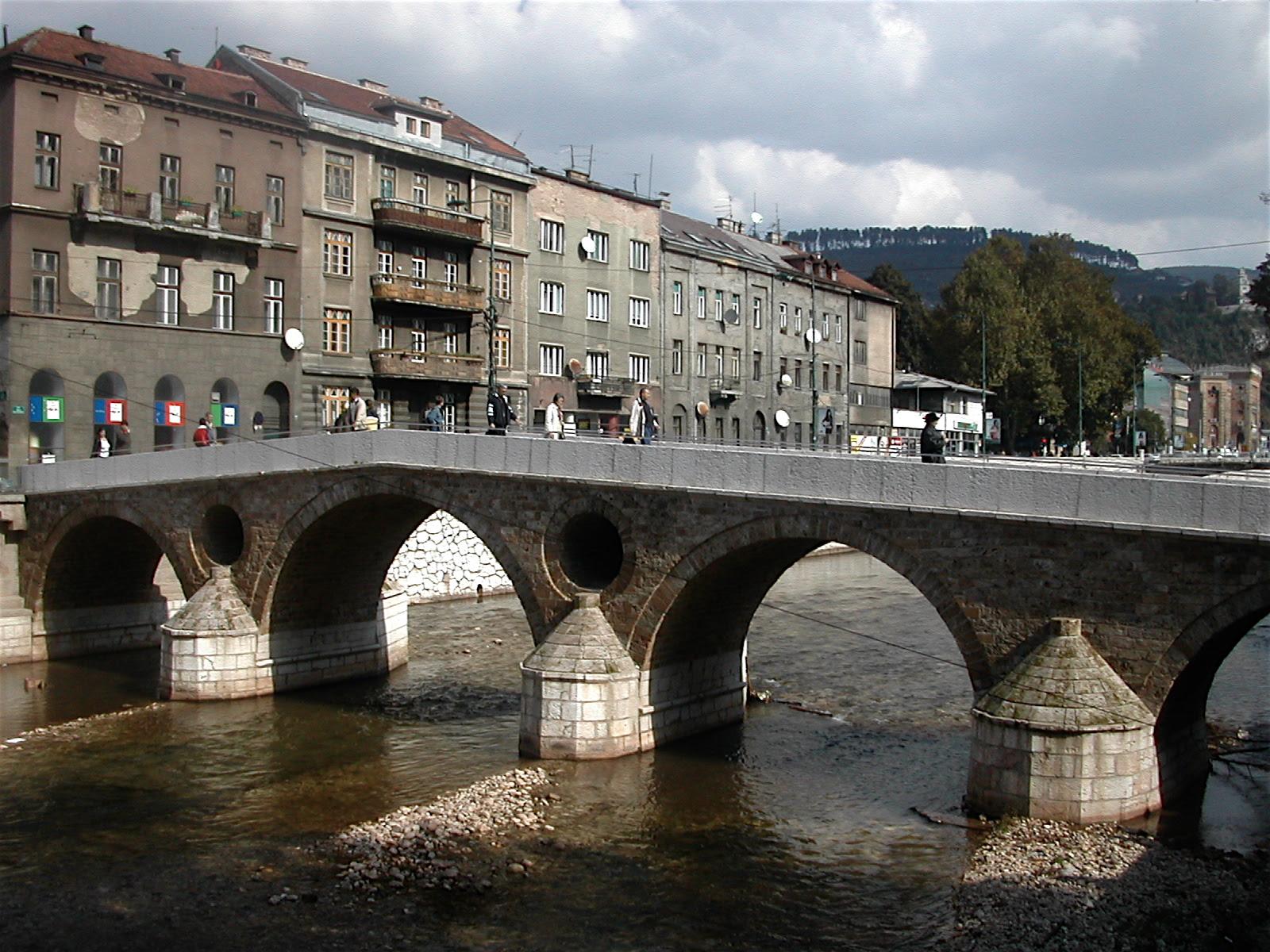 The Latin Bridge in Sarajevo