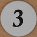 Cardboard Bingo Number 3
