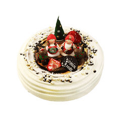 Paris Baguette Christmas Fresh Cream Cake