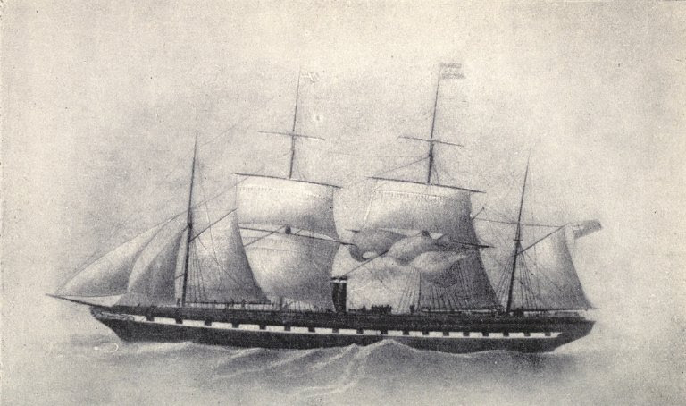 File:SS Great Britain with four masts 1853.jpg