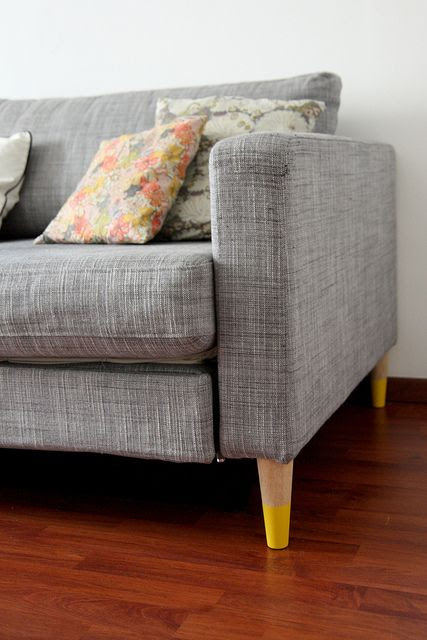 DIY new furniture legs