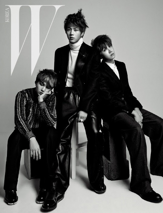 Bangtan Boys - W Magazine December Issue '14