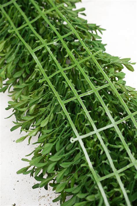 """Tea Leaf Mat Garland 8"""" x6 FT"""