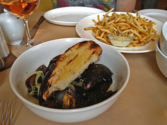 The Girl and the Fig - Steamed Mussels and Frites
