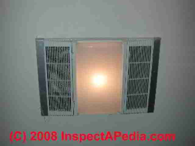 Bathroom Fan Light Vent Bath Fans