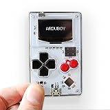 Arduboy クレカサイズで自作ゲームをできる小型ゲーム機 オープンソース(ホワイト)