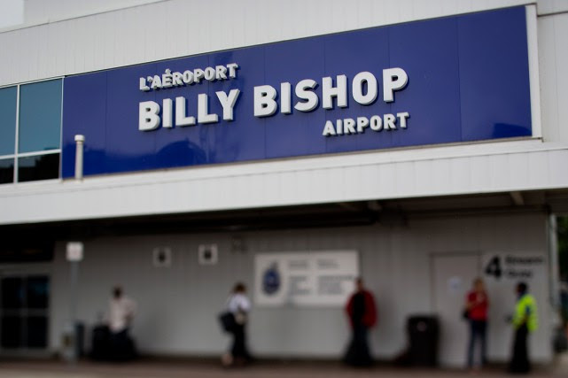 L'aéroport Billy Bishop de Toronto... (PHOTO ARCHIVES BLOOMBERG)
