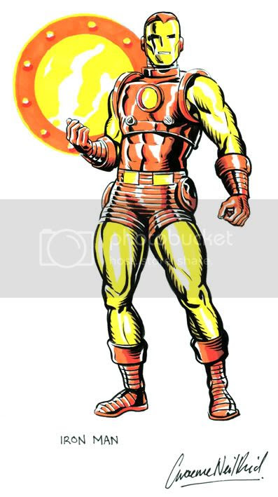 Graeme Neil Reid,Illustration,IronMan,Marvel Comics