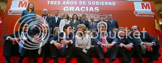 Esperanza Aguirre y su Gobierno