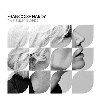 La pluie sans parapluie - Françoise Hardy noir sur blanc