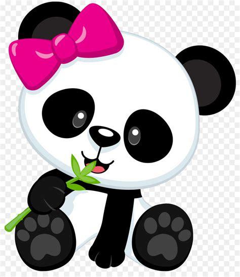 giant panda bear baby pandas clip art cute panda png