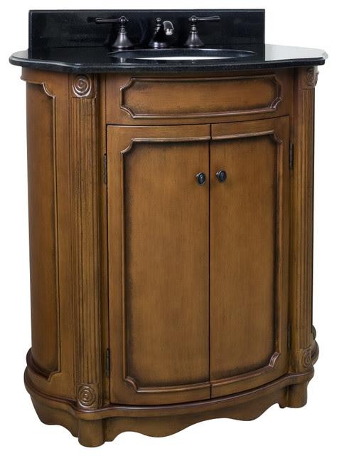 """30-1/2"""" Wide MDF Elliptical Vanity VAN025-T - Bathroom ..."""