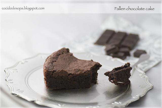 Fallen chocolate cake_3