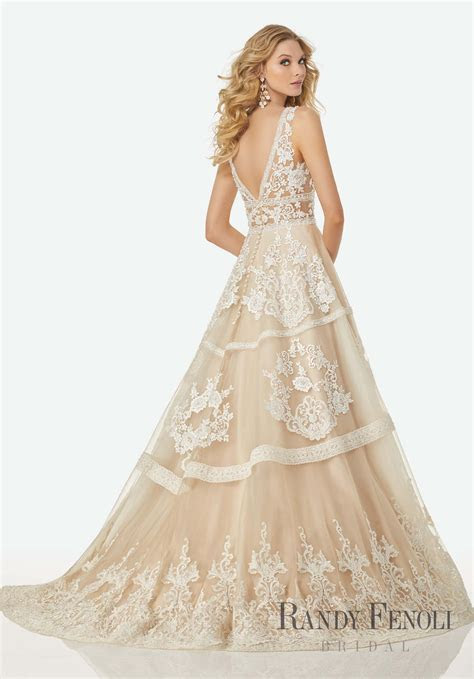 Michelle Wedding Dress in 2019   Fall '17   Randy Fenoli