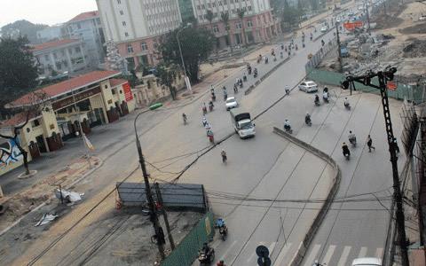 nắn đường, Trường Chinh, quy hoạch, Hà Nội, có vấn đề, Thành Ủy