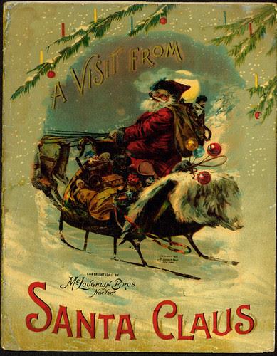 vintage santa 1901 2