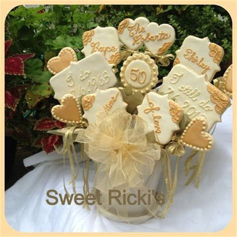 122 best Anniversary   Cookies images on Pinterest