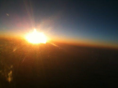 chasing the sun at 450mph