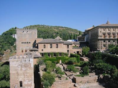 The architectural splendor of the Alhambra in Granada