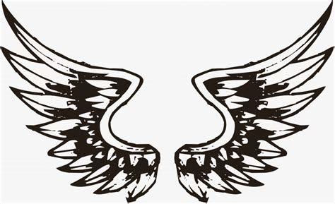 lambang sayap keren clipart