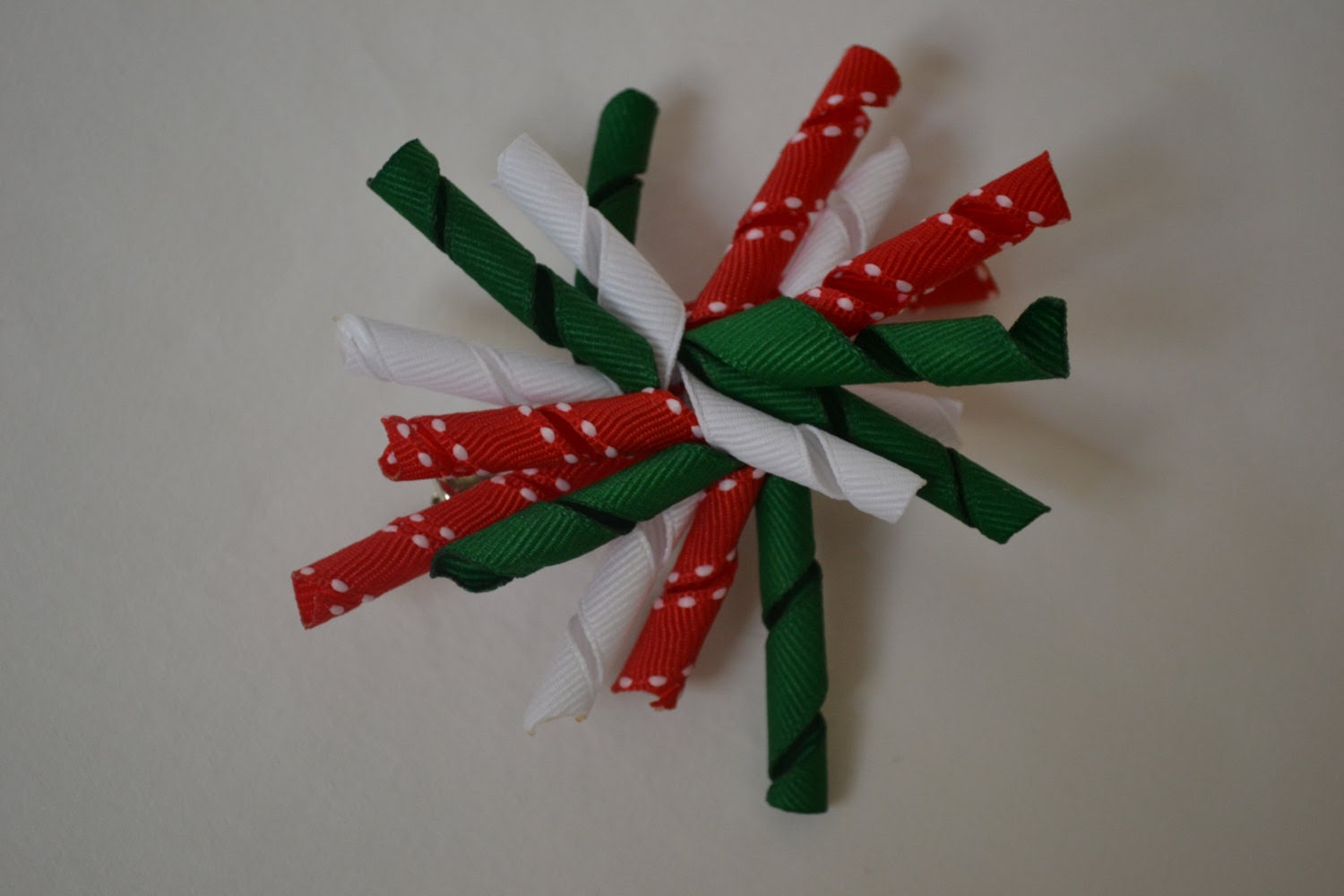 Reserved - Christmas Hair Bow - NoRhymeOrReasonAt40