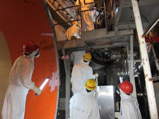 Fukushima Daiichi unit 5. Source: TEPCO