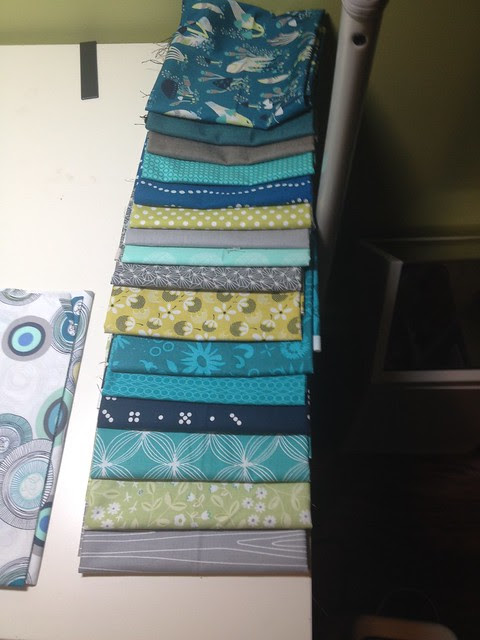 fabric for Arithmetic Quilt