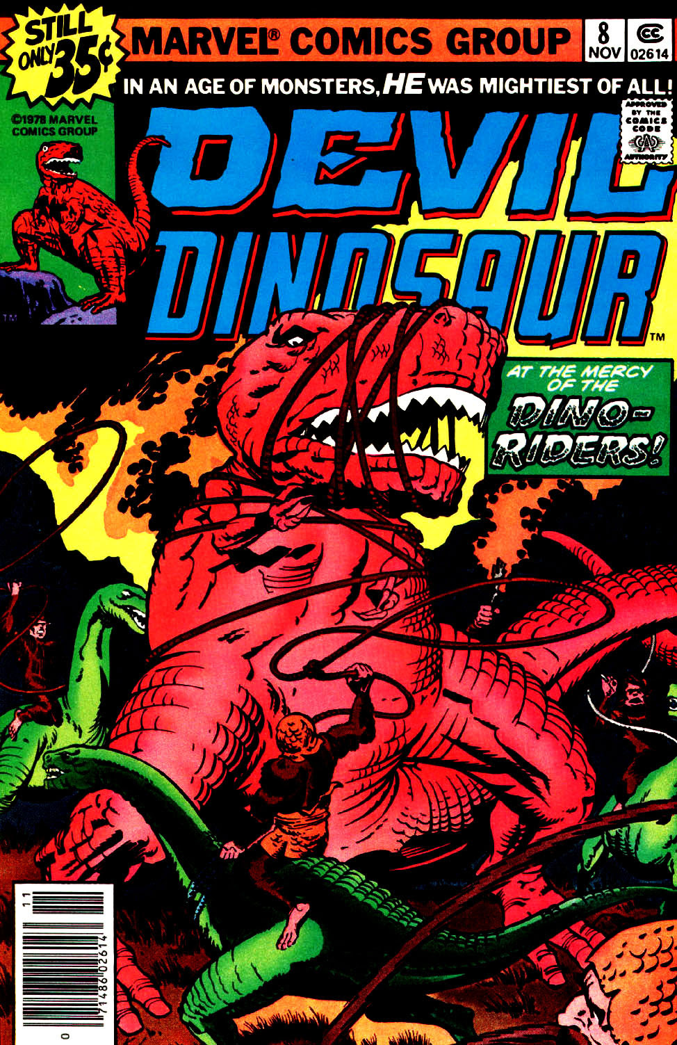 Green tea and velociraptors it s just a flesh wound - But Even That S Not Enough Kirby S Pen Takes Devil Dinosaur Onward Upward Outward Attacking Aliens Strange Technology Kirby Krackle Star Beasts Of