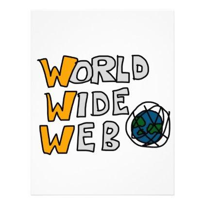 World Wide Web Letterhead