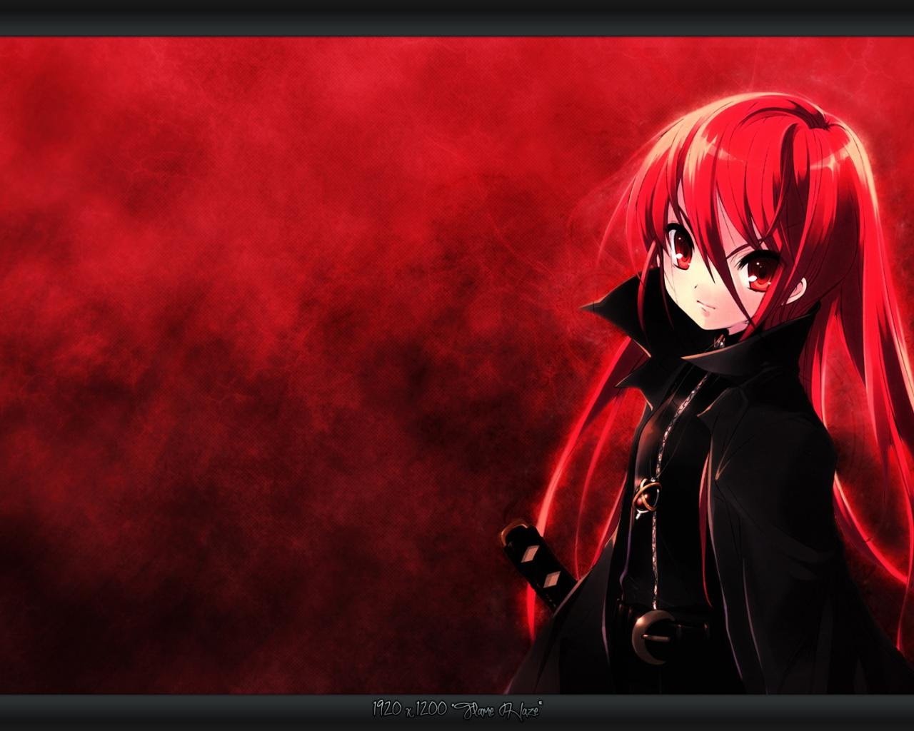 Hd Wallpaper Anime Red Wallpaper Lucu