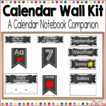 calendar wall, math wall, calendar time, kindergarten math wall
