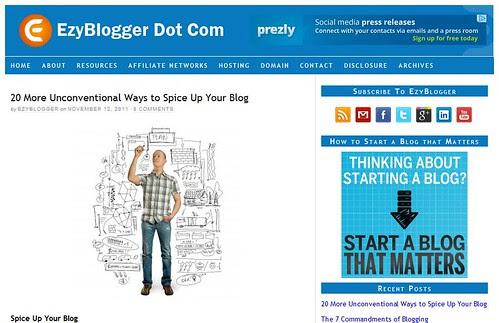 EzyBlogger Dot Com by totemtoeren