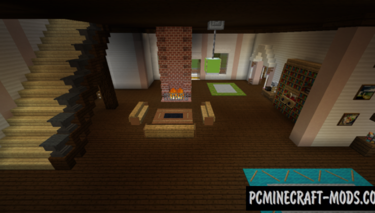 Victorian House Map For Minecraft   Pc Java