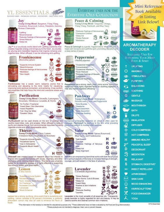 NEW Printable Young Living Party Handout - Everyday Uses for the ...