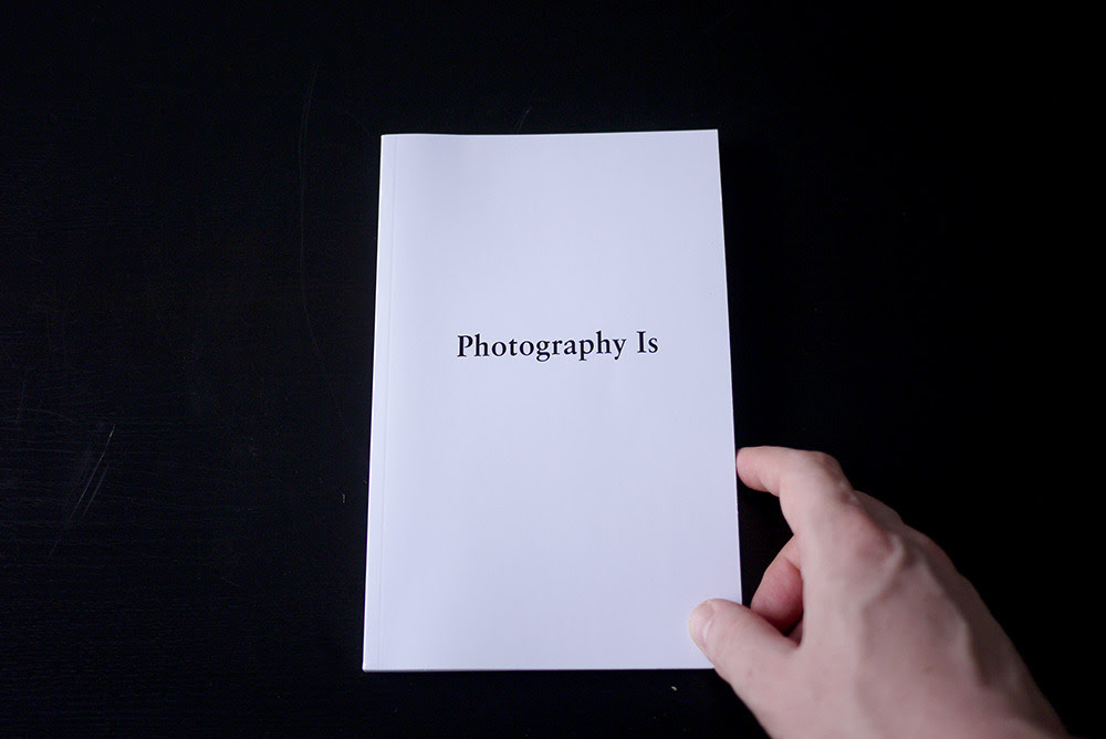 Henner, Mishka. Photography Is. PoD, 2012, 200 pages.