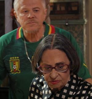 A atriz será tia do Ruço (Foto: TV Globo/ Pé na Cova)