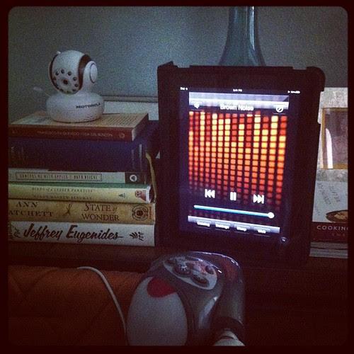 {Day 23} #technology iPad white noise
